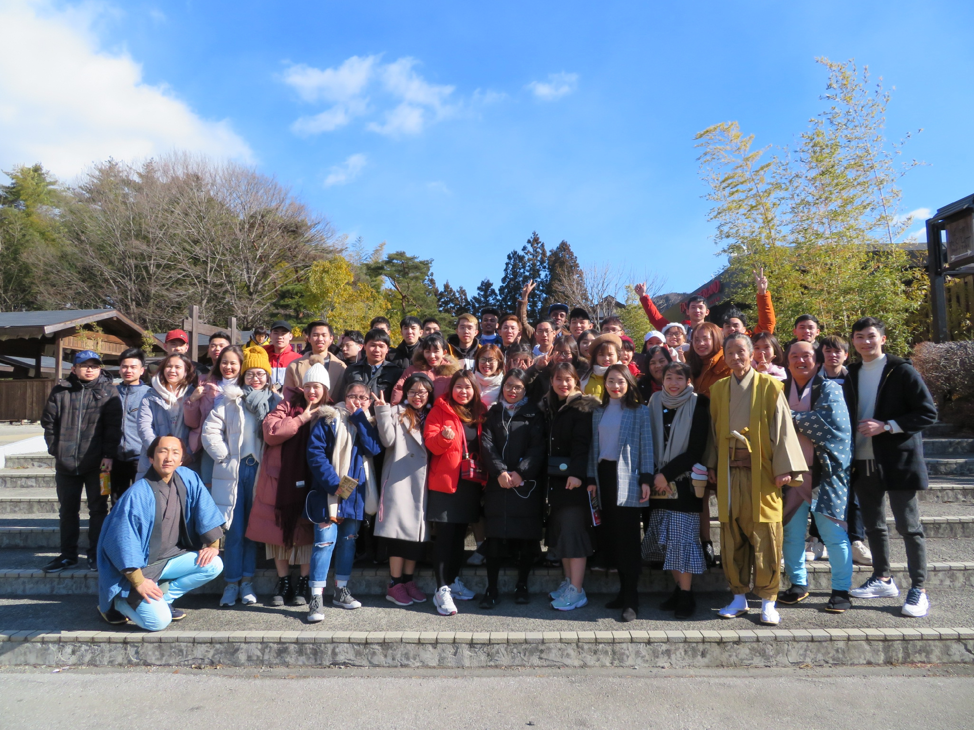 2019/2 一泊旅行に行きました(日光・江戸村)Overnight school trip: We traveled to Nikko and Edo Wonderland